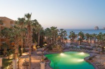 Villa del Palmar Cabo Wide open pool view